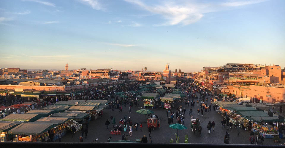 Image Description for http://80.88.88.181:8888/gpsviaggi/gpsviaggi/packages_photos/647/Marrakech-Piazza-Jemaa-el-Fna-1.JPG